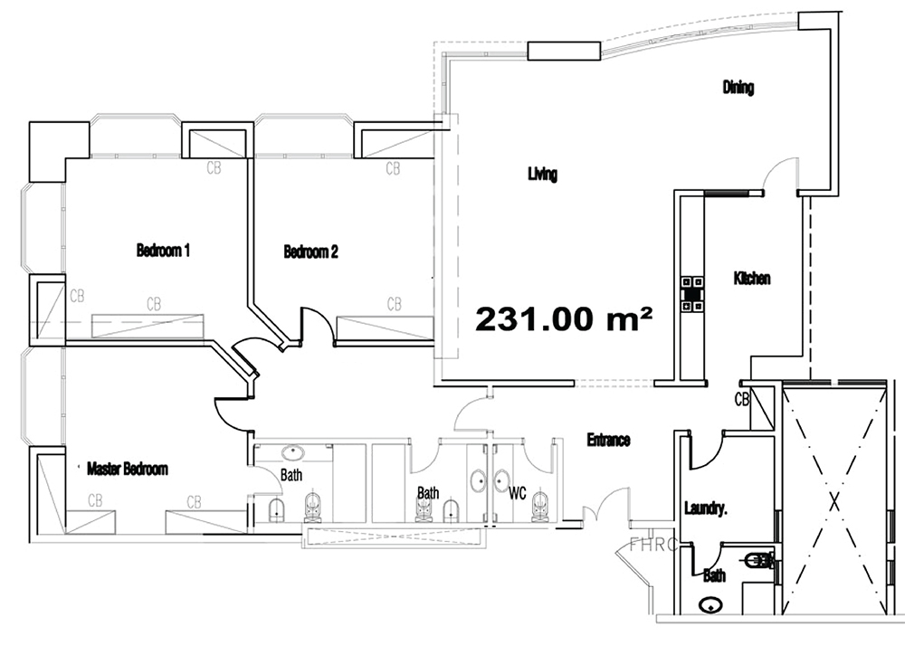 Dhahran Tower – Saudi Aramco Housing Floor Plans